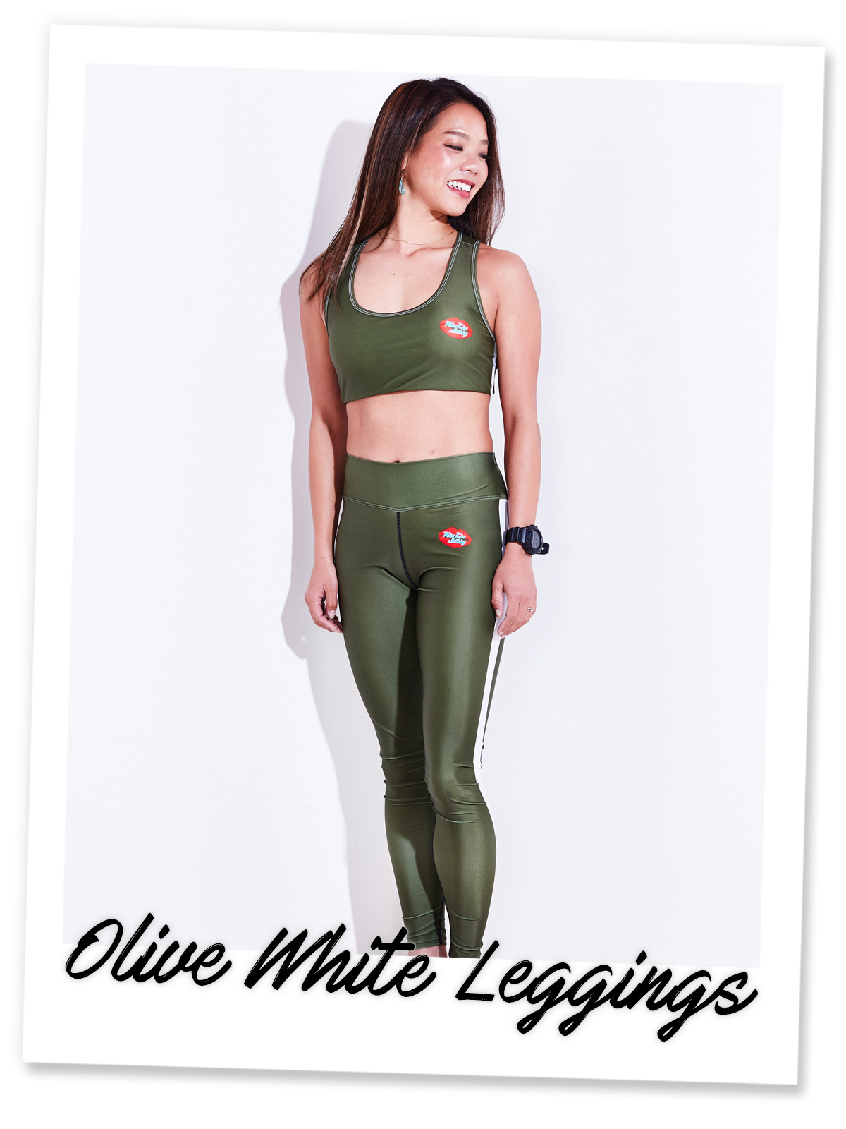 Olive White Leggings (OWL)