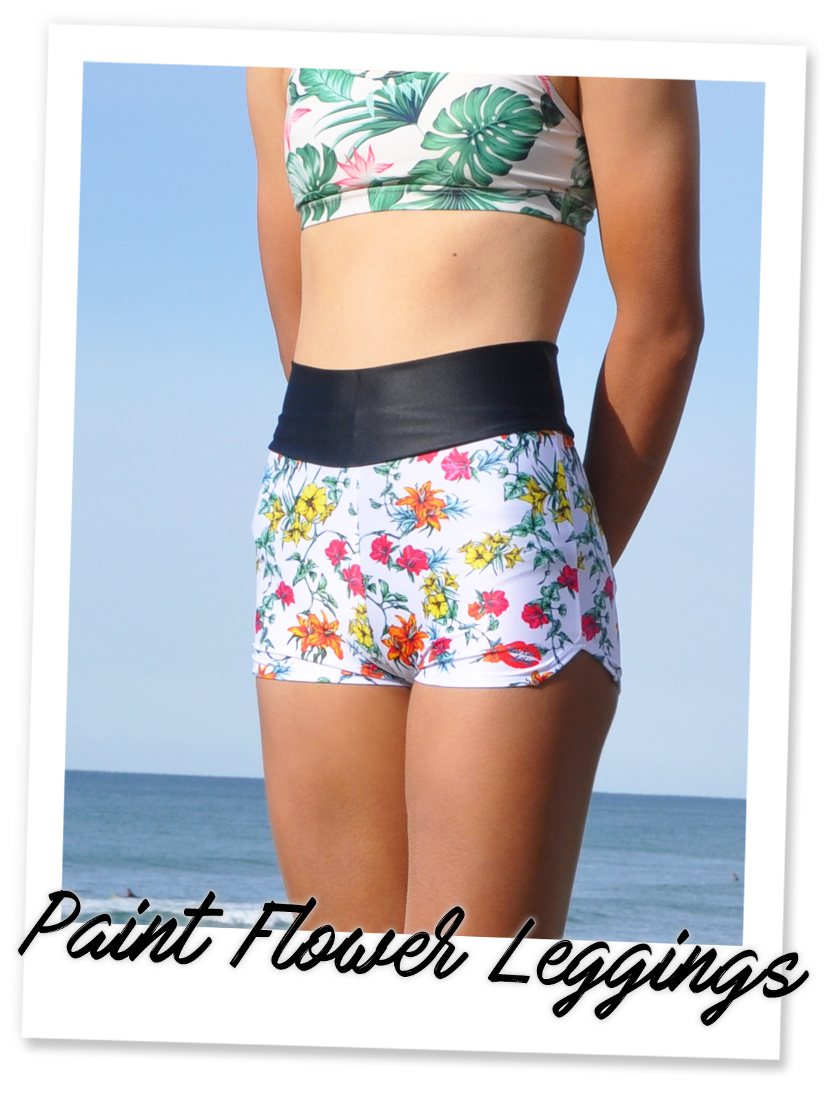 Paint Flower Leggings(PFL)